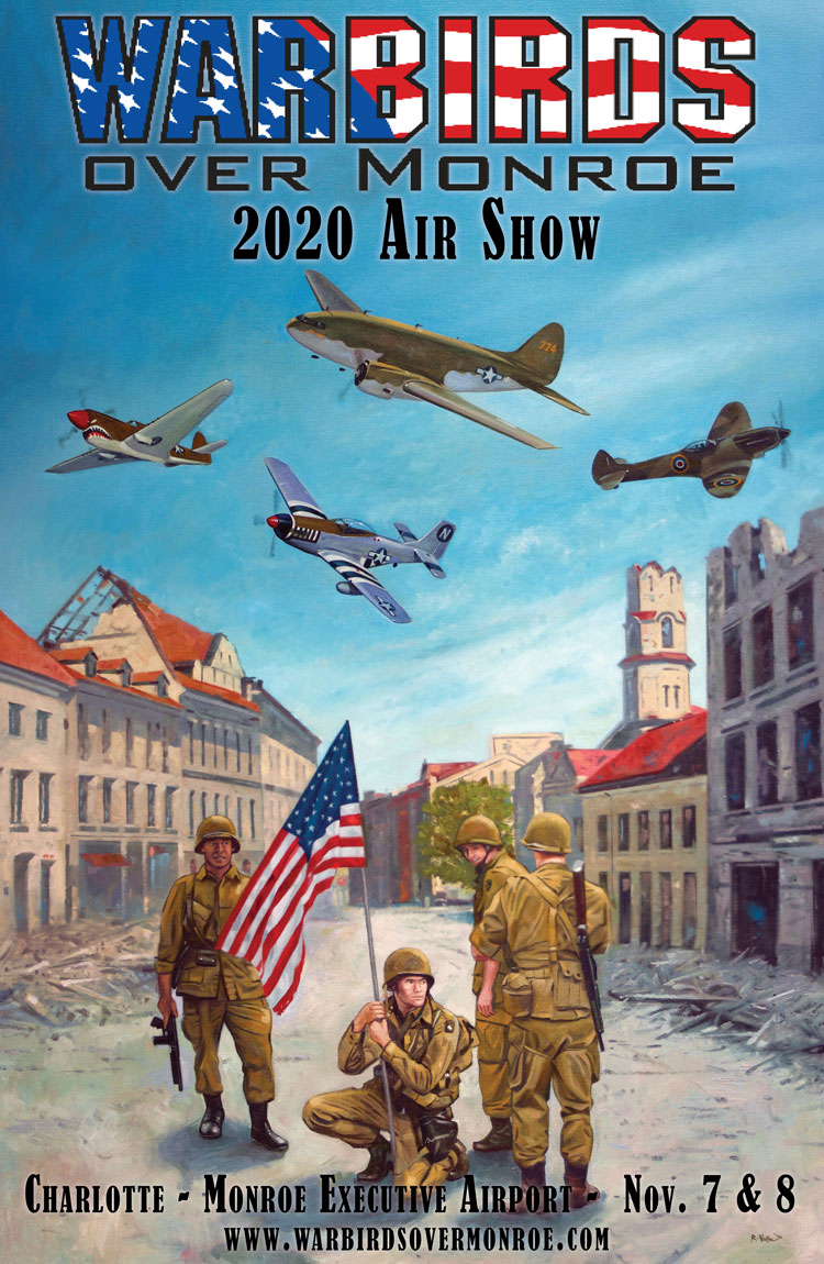 2020 Warbirds Over Monroe Poster