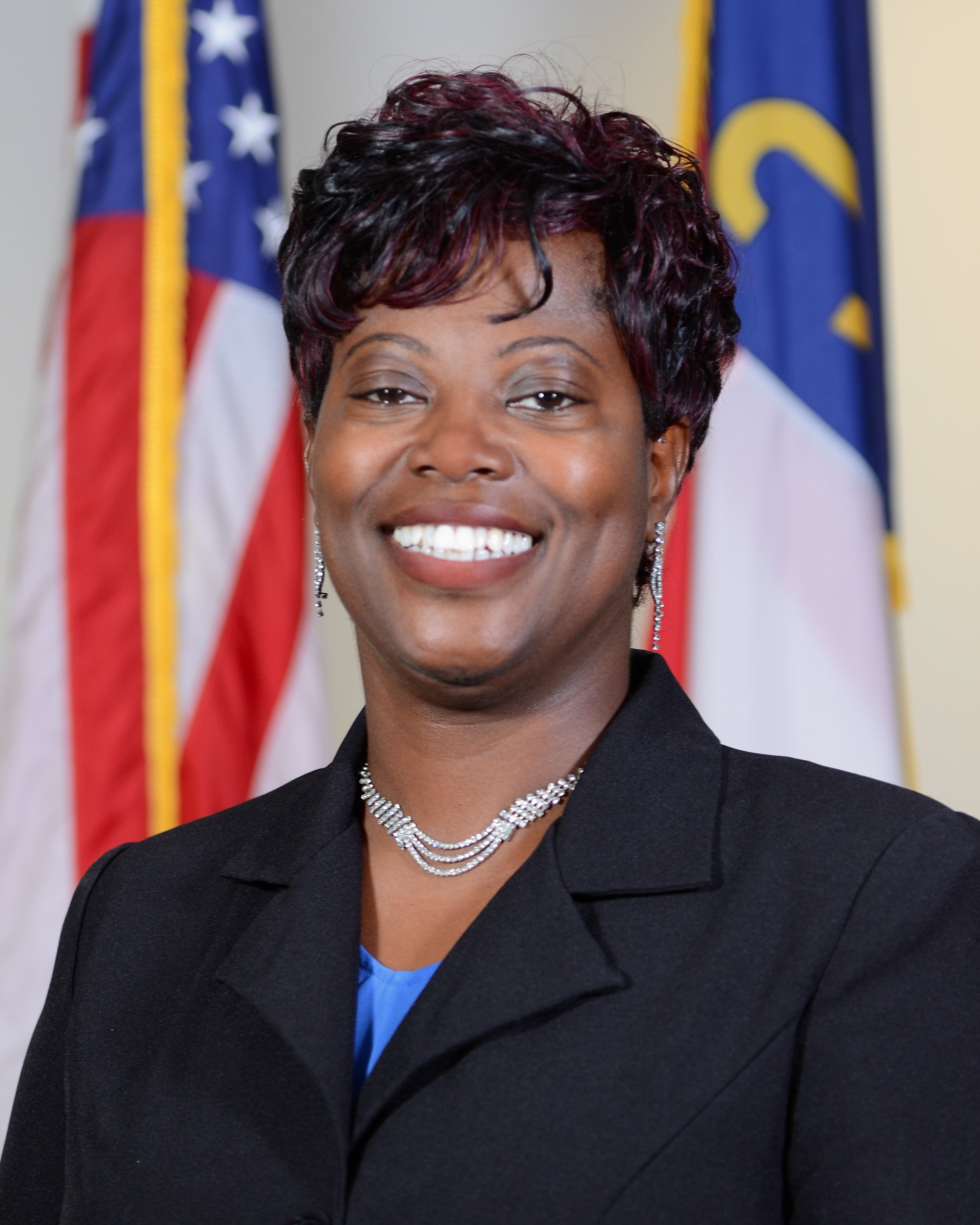 City Council member Angelia James