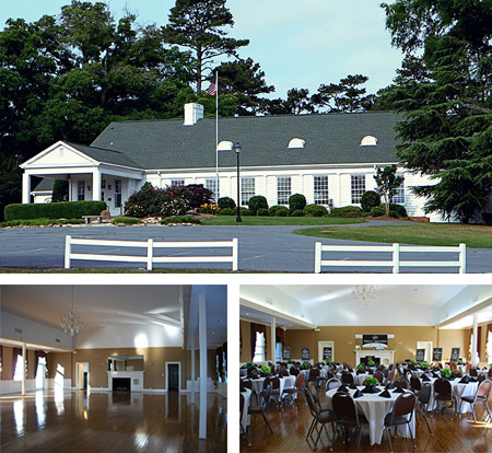 Monroe Country Club Ballroom