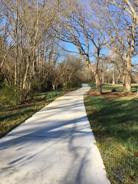 Bearskin Greenway in Dickerson Park