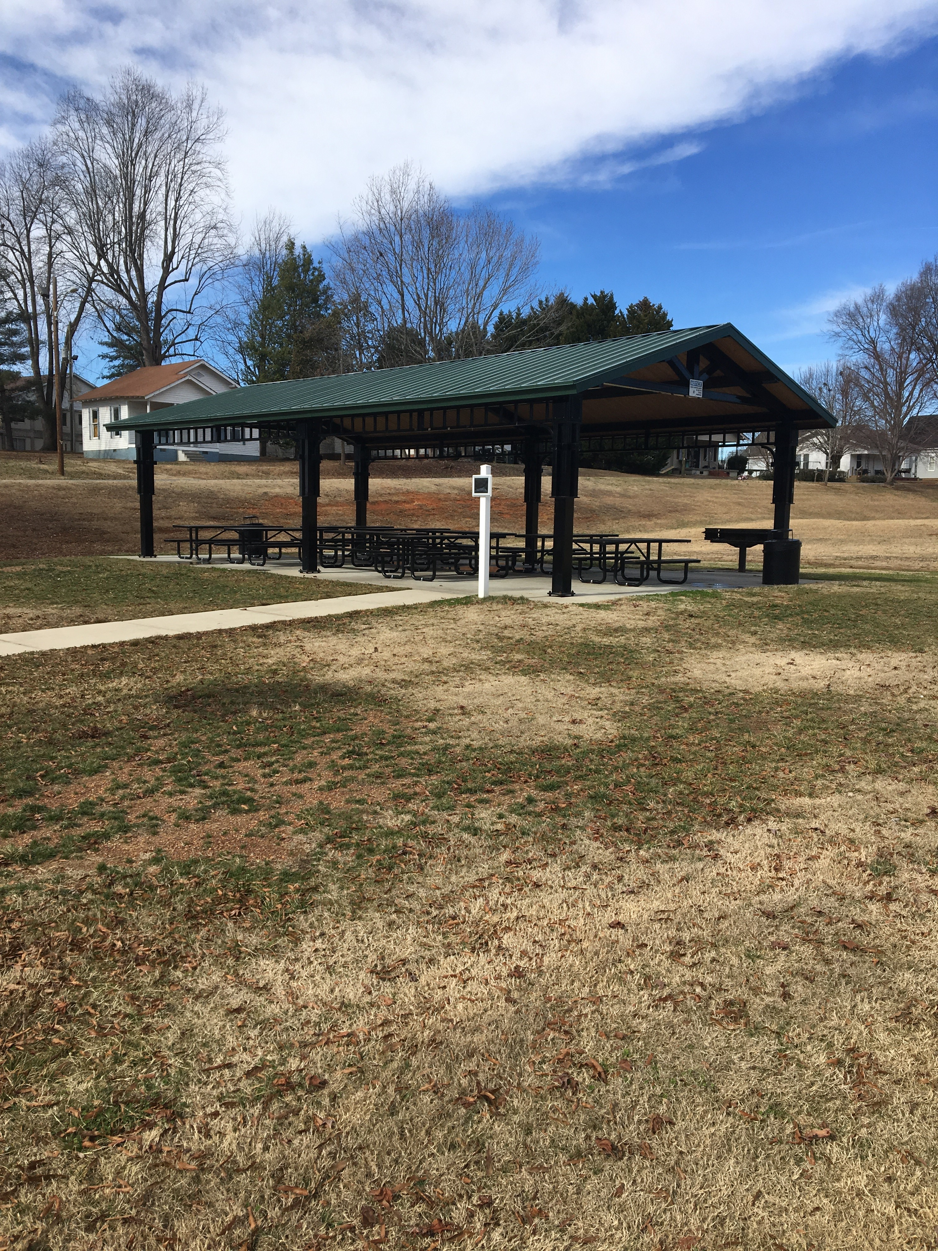Don Griffin Park Picnic shelter