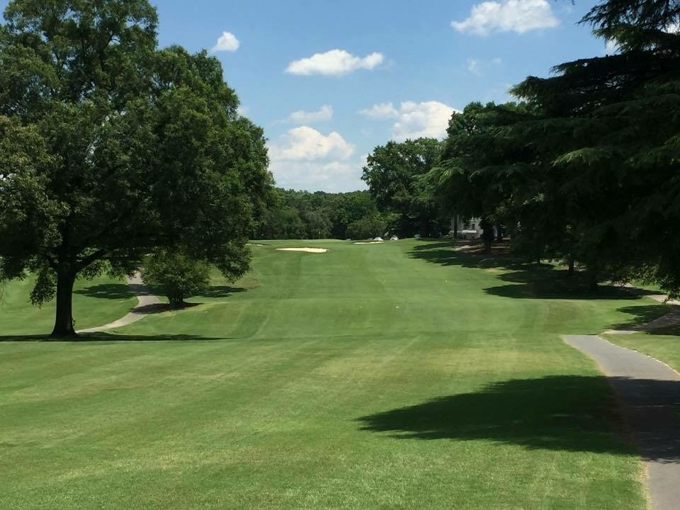 Monroe Country Club fairway.