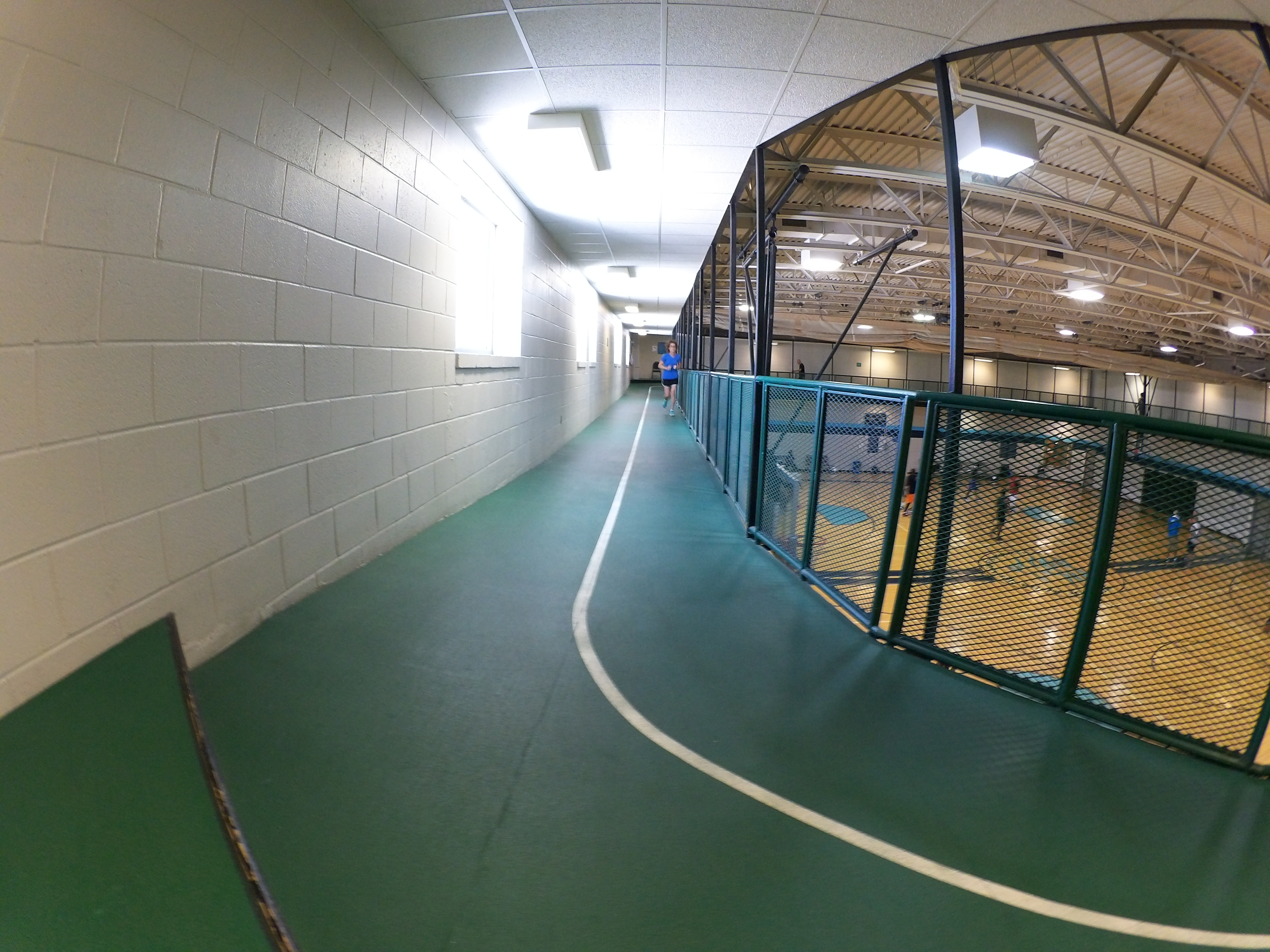 Indoor Walk/Run Track