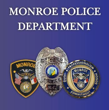 Monroe Police Patch Badge Coin