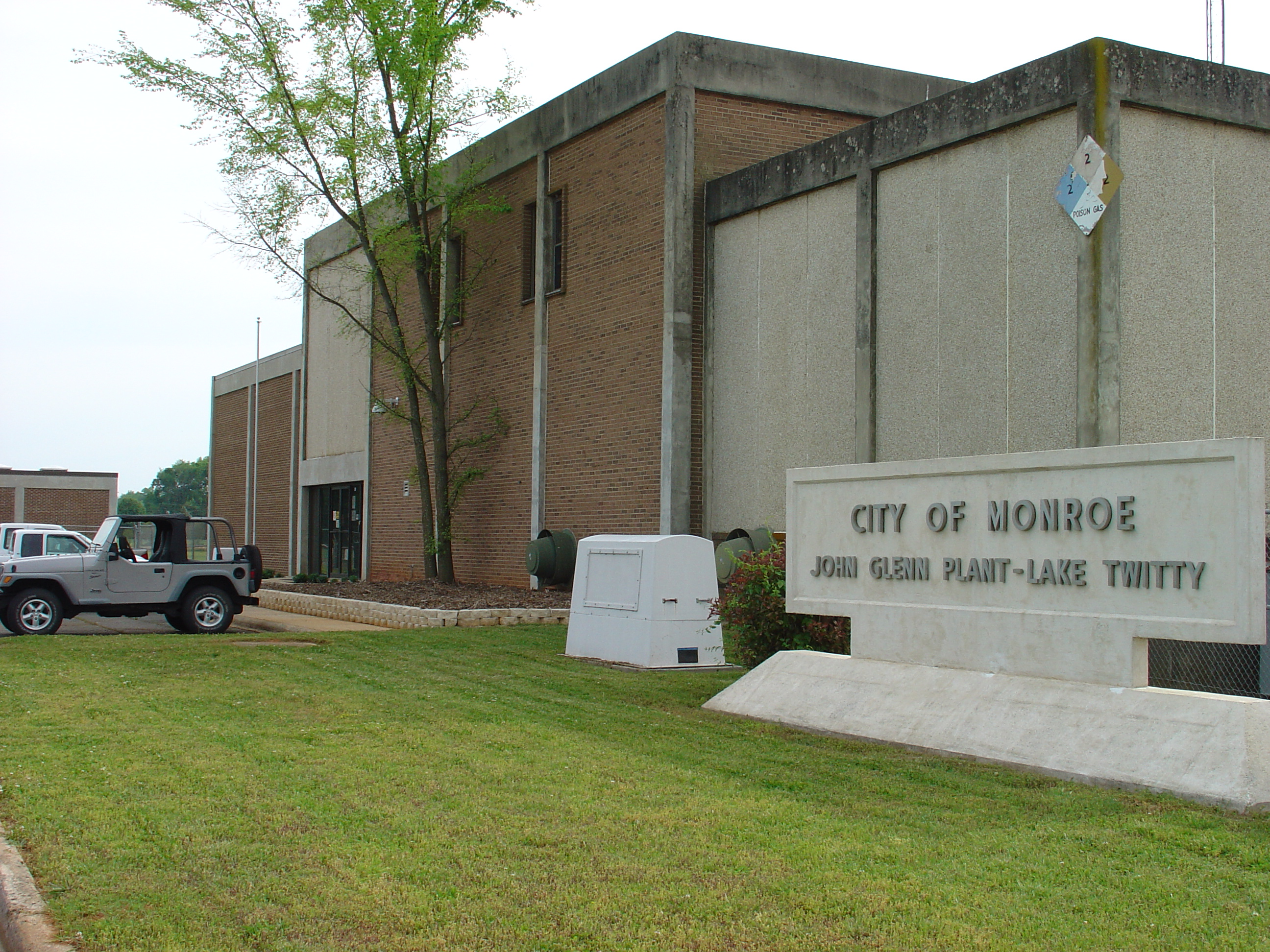 City of Monroe, NC > Departments > Water & Sewer > Water